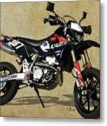 Suzuki Race Motorcycle. 387. Metal Print