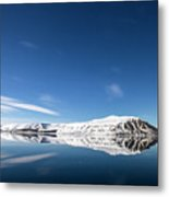 Svalbard Reflection 1 Metal Print