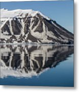 Svalbard Reflection 2 Metal Print