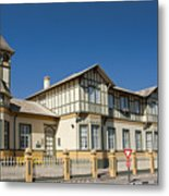 Swakopmund's German Colonial Architecture Metal Print