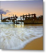 Swallowed By The Tides Metal Print