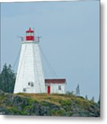 Swallowtail Lighthouse Metal Print