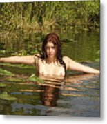 Swamp Beauty Two Metal Print