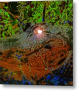 Swampthing Out There Metal Print