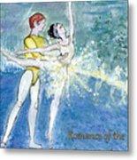 Swan Lake Ballet Poster Metal Print