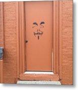 Swann Door Metal Print
