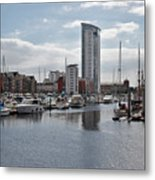 Swansea Marina Metal Print