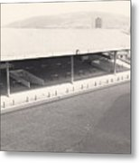 Swansea - Vetch Field - South Stand 1 - Bw - 1960s Metal Print