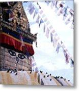 Swayambhunath II Metal Print