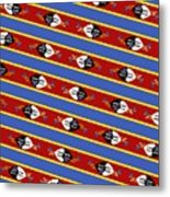 Swaziland Flag 3 Metal Print