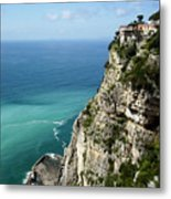 Sweeping Around The Amalfi Coast Metal Print