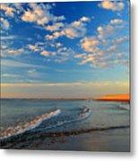 Sweeping Ocean View Metal Print