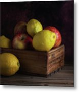 Sweet And Sour Fruits Still Life Metal Print