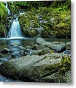 Sweet Creek Falls Metal Print