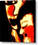 Sweet Embrace Metal Print
