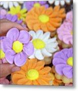 Sweet Floral Array Metal Print