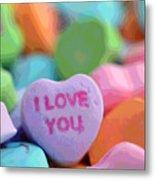Sweet Hearts Metal Print