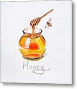 Sweet Honey Metal Print