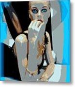 Sweet Judy Blue Eyes Metal Print
