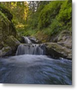 Sweet Little Waterfall Metal Print