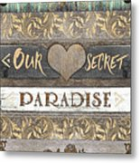 Sweet Paradise Series Metal Print