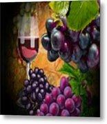 Sweet Red Wine # 3 Metal Print