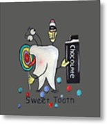 Sweet Tooth T-shirt Metal Print
