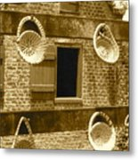 Sweetgrass Baskets And Slave Shack Metal Print