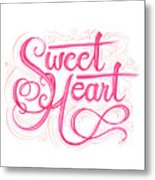 Sweetheart Metal Print by Cindy Garber Iverson