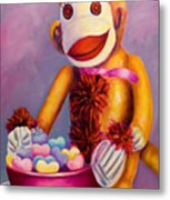 Sweetheart Made Of Sockies Metal Print