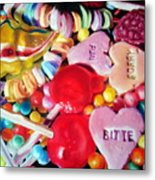 Sweets For My Sweet Metal Print