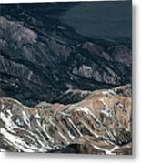 Sweetwater Mountains On California Nevada Border Aerial Photo Metal Print