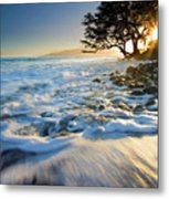 Swept Out To Sea Metal Print by Mike  Dawson