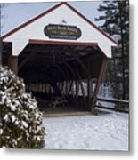 Swift River Bridge Conway New Hampshire Metal Print