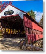Swift River Bridge Metal Print