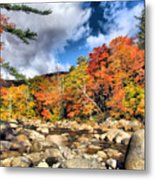 Swift River New Hampshire Metal Print