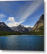 Swiftcurrent Lake - Glacier Np Metal Print