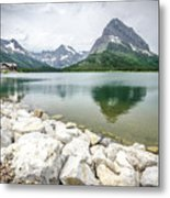 Swiftcurrent Lake Metal Print