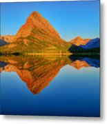 Swiftcurrent Morning Reflections Metal Print