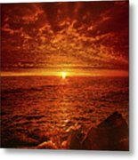Swiftly Flow The Days Metal Print