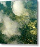 Swimming Clouds Metal Print