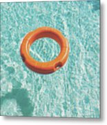 Swimming Pool III Metal Print