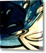 Swimming Pool Mural Detail 2 Metal Print