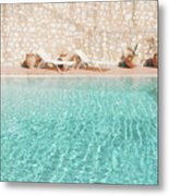 Swimming Pool V Metal Print