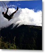 Swing At The End Of The World Metal Print