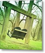 Swing On Metal Print
