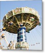 Swing Ride Metal Print
