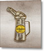 Swingspout Oil Canister Metal Print