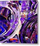 Swirl 1 Metal Print