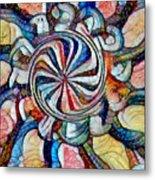 Swirl 12 Metal Print